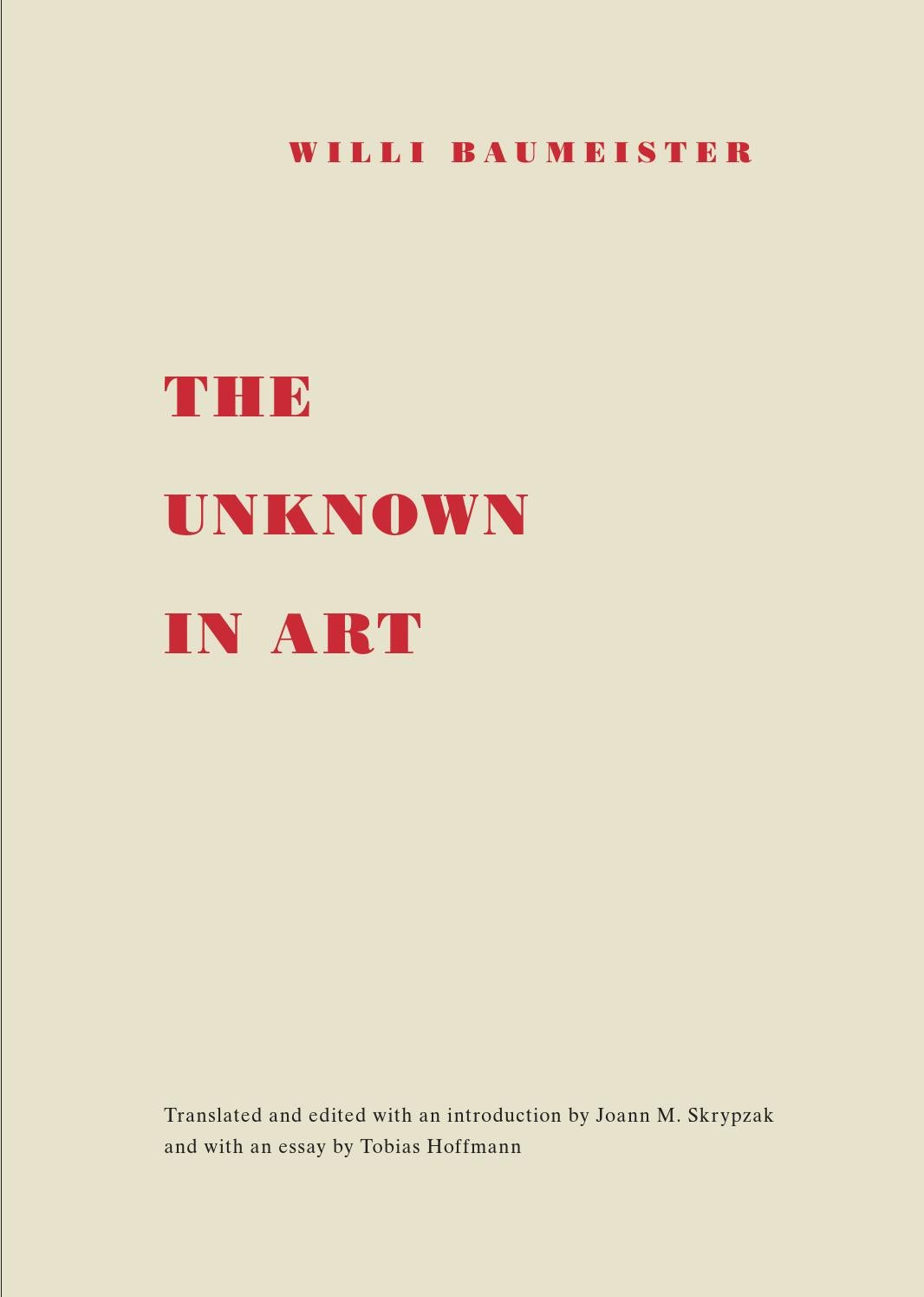 Willi Baumeister The Unknown In Art By Willi Baumeister Stiftung Issuu