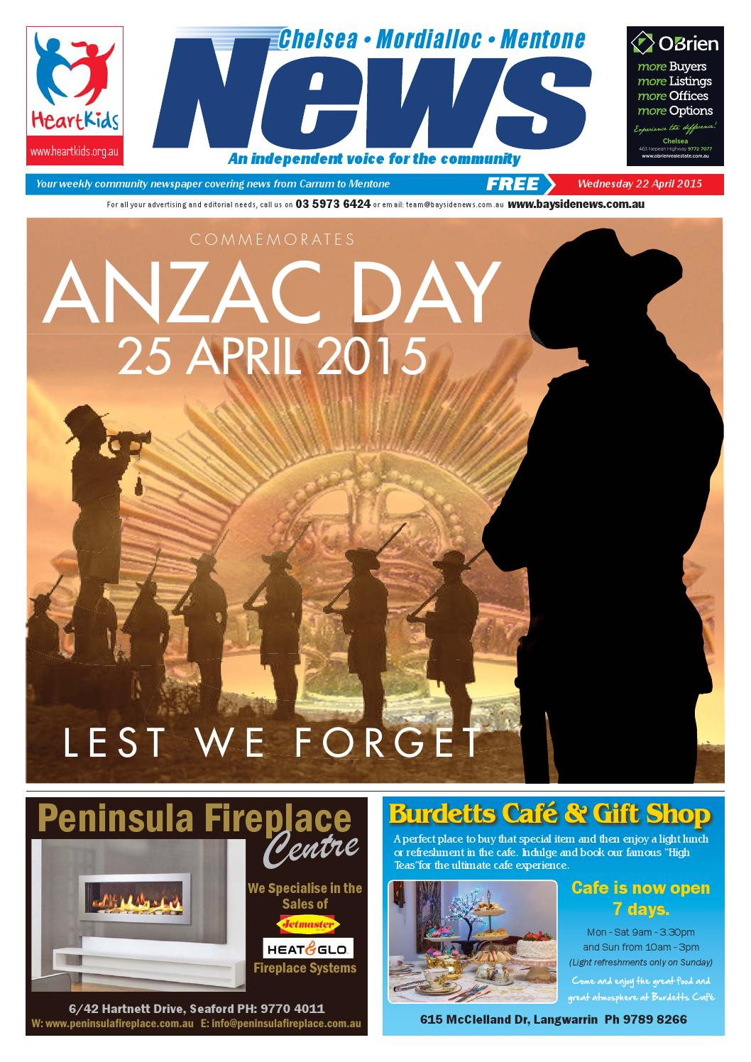 Light Shop Anzac Highway 22nd April 2015 By Mornington Peninsula News Group Issuu
