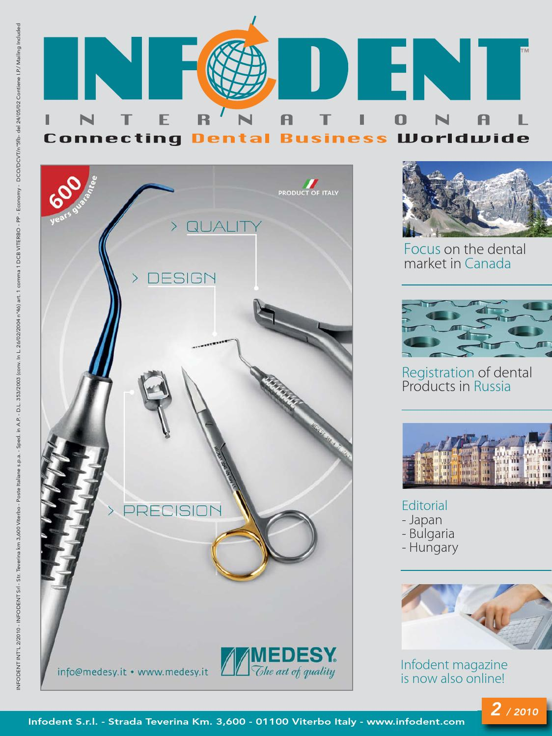 Dtstudyclub Italy Home Infodent International 2 2010 By Infodent Srl Issuu