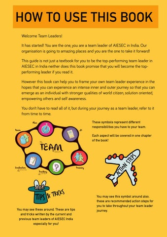 The Ultimate Guide To Being A Team Leader by AIESEC in India - issuu