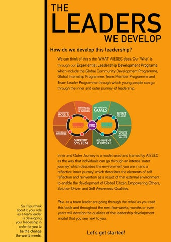 The Ultimate Guide To Being A Team Leader by AIESEC India - issuu