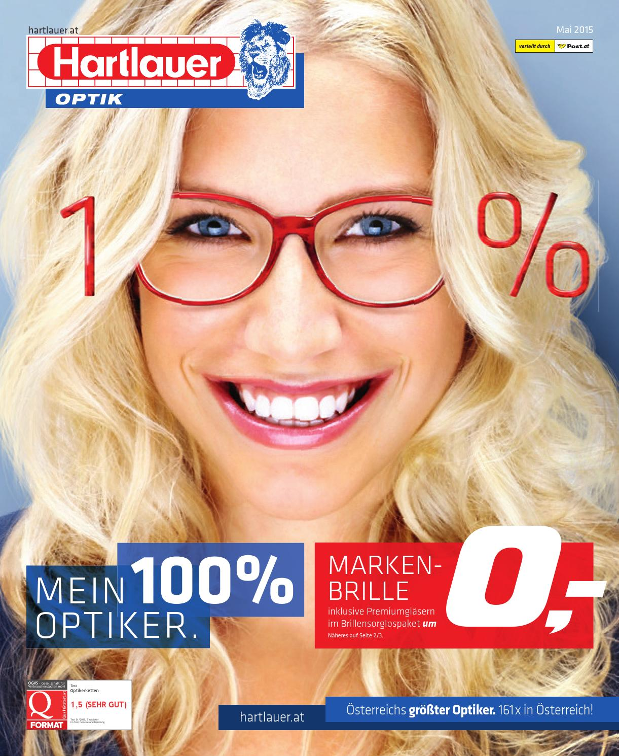 Test Optiker 2015 Hartlauer Kw19 By Russmedia Digital Gmbh Issuu