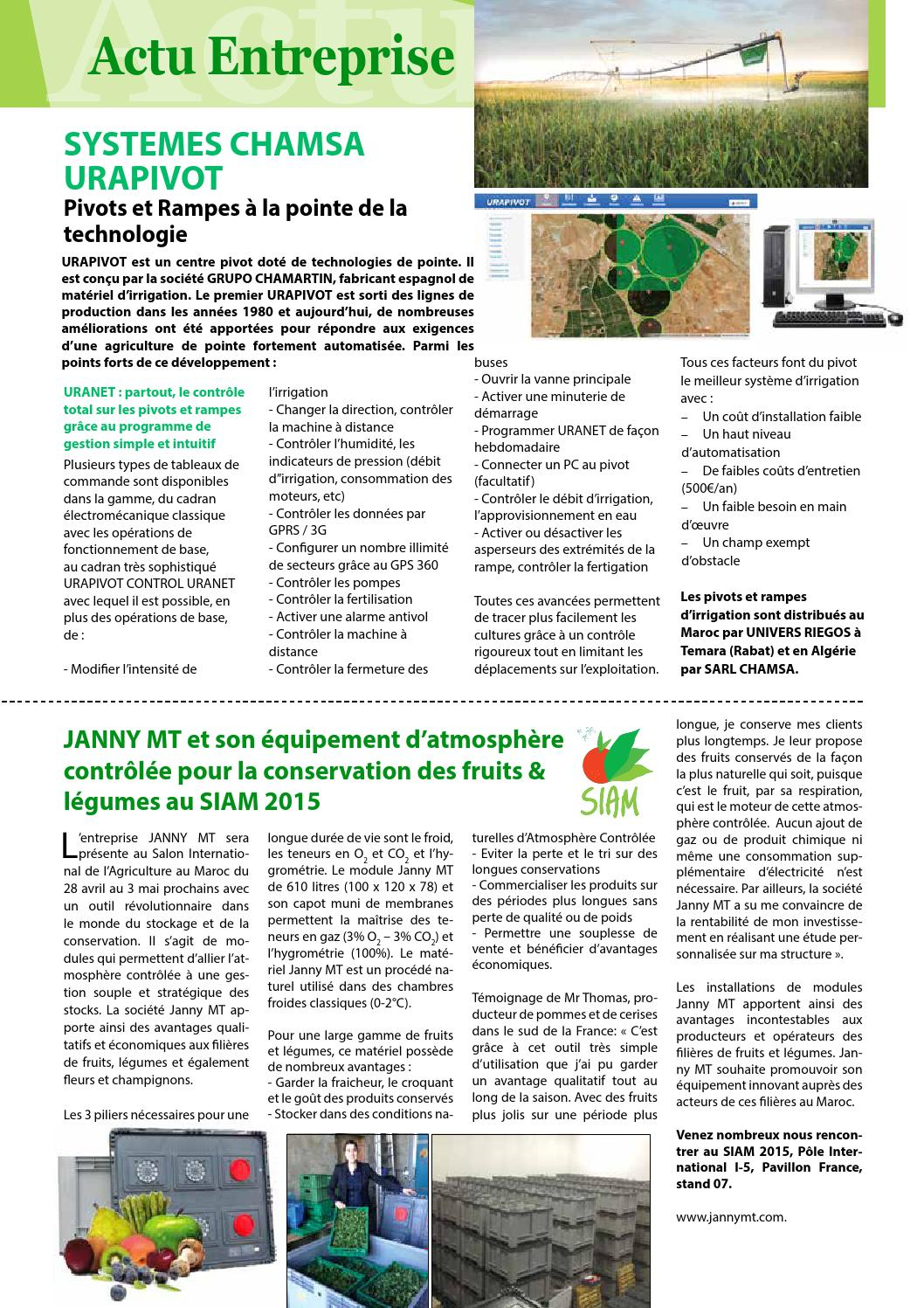 Cout D Une Chambre Froide Agrimag Avril 84