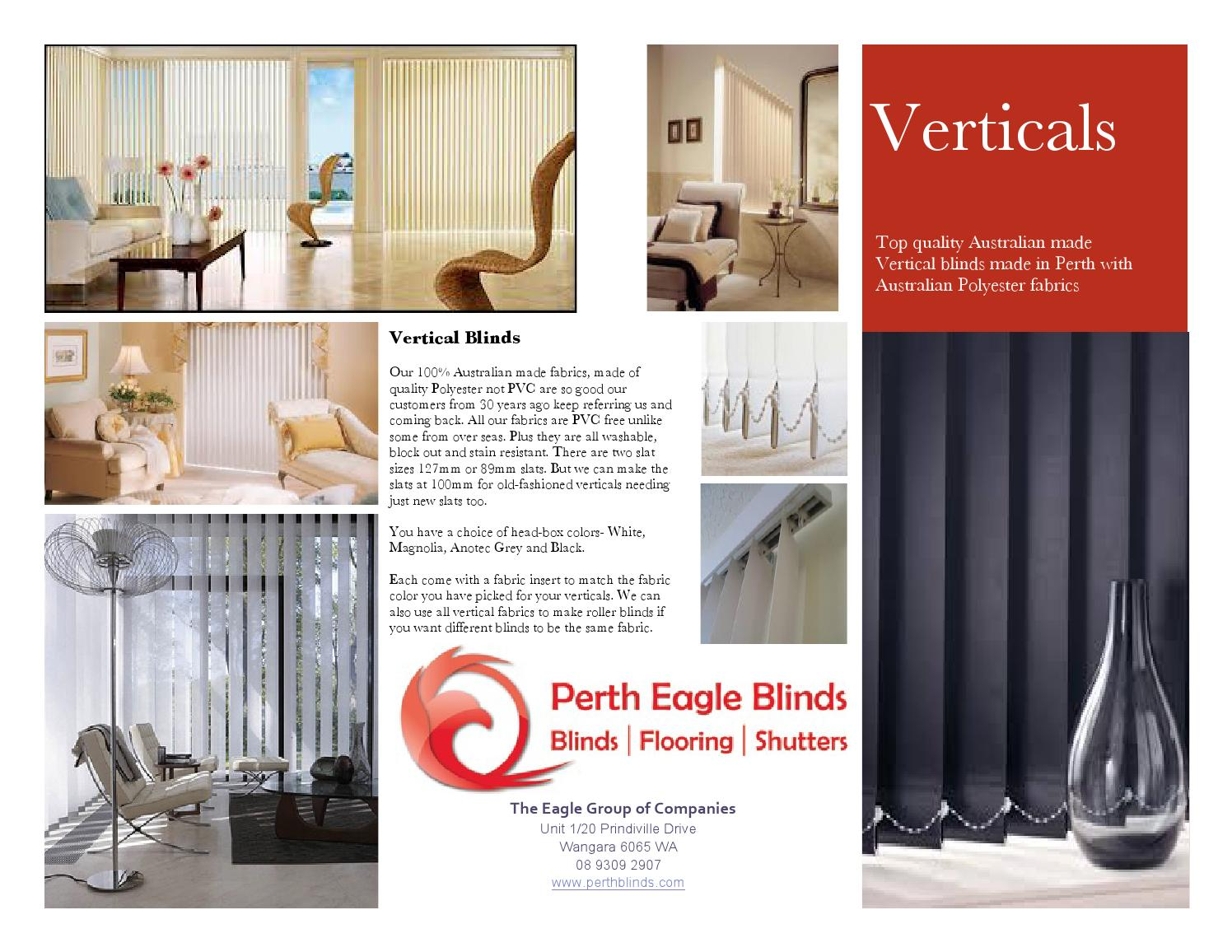Block Out Blinds Perth Perth Blinds Verticals Poster 2013 Pdf By Perth Blinds And