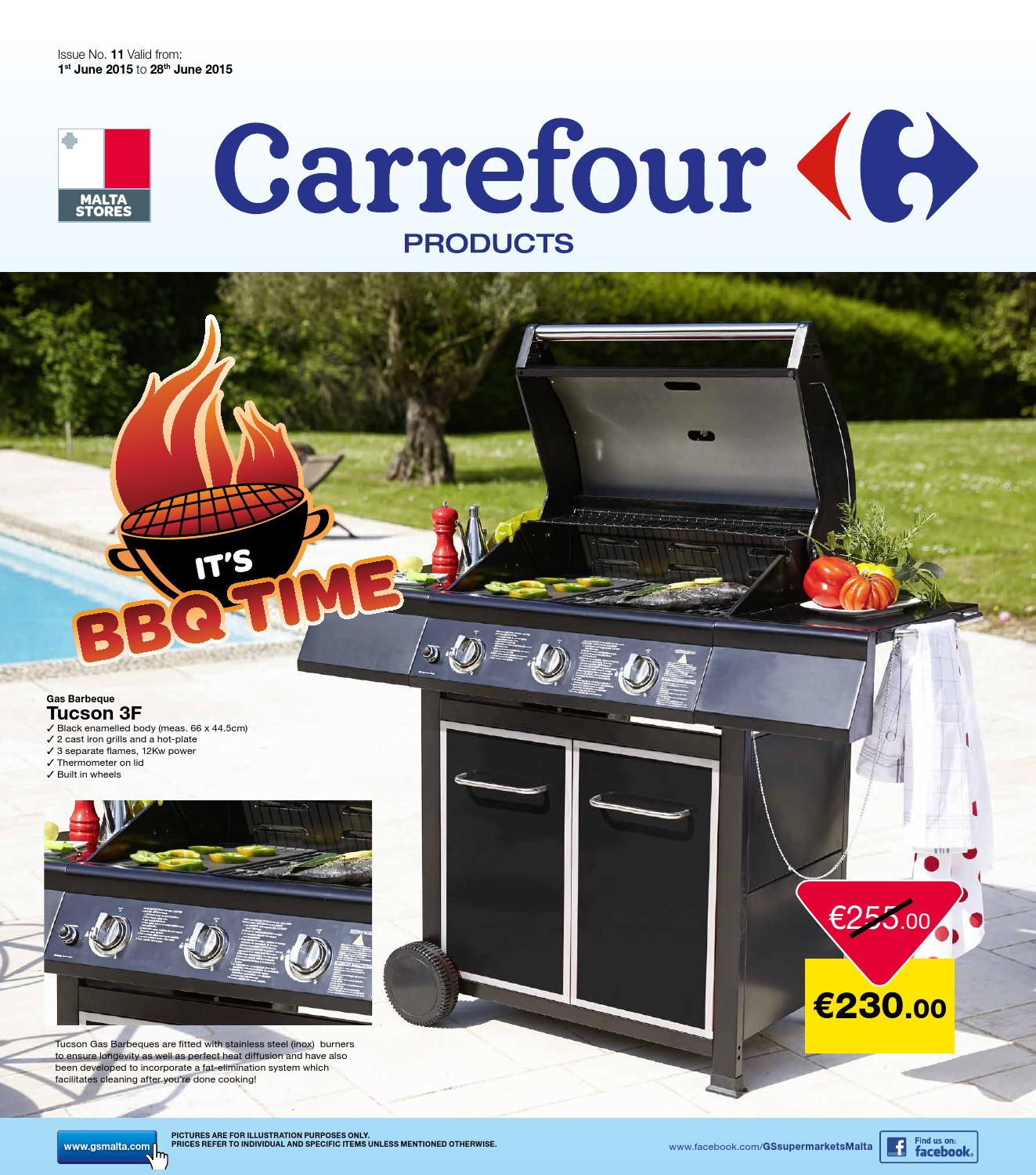 Cheminée D'allumage Barbecue Carrefour Carrefour Products Magazine June 2015 By The Concept