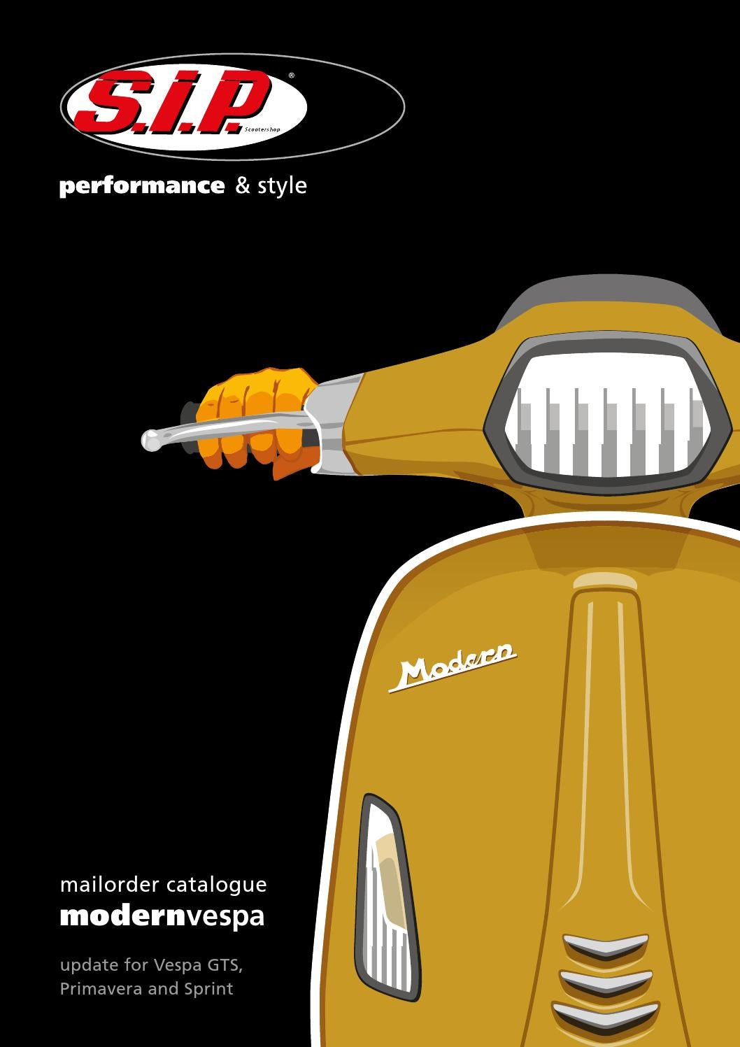 Catalogue Sip For Modern Vespa Update 2015 By Sip Scootershop Gmbh Issuu