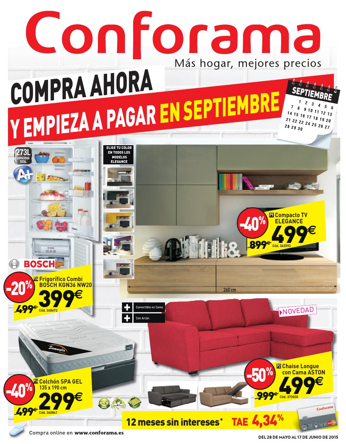 Conforama Bettsofa Argan Conforama Catalogo 28mayo 27junio2015