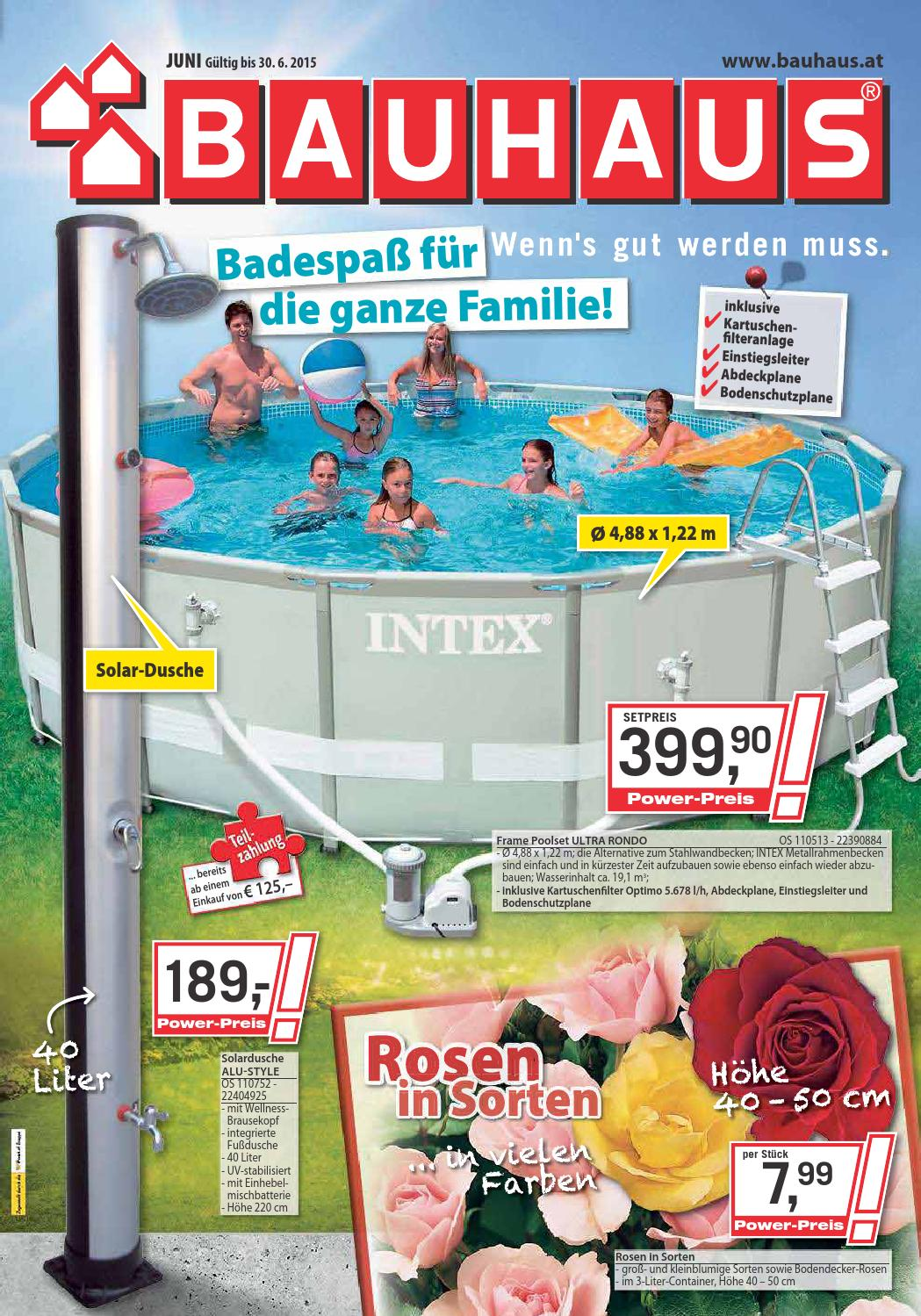 Intex Pool Abdeckplane Eckig Bauhaus Angebote 1 30juni2015 By Promoangebote At Issuu