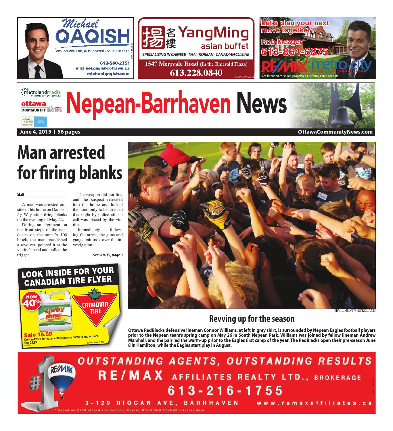 Canadian Tire Merivale Rd Nepean060415 By Metroland East Nepean Barrhaven News Issuu