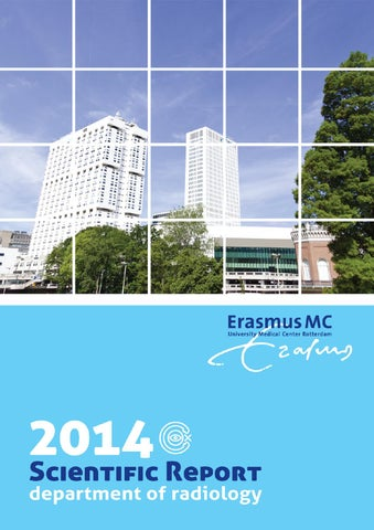Scientific Report 2014 by Erasmus MC - Dept of Radiology  Nuclear