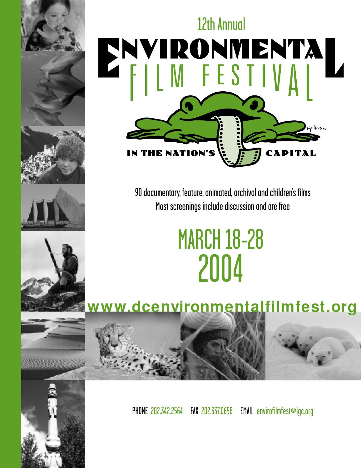 Prix Maison Igc Forum 2004 Printed Program By Environmental Film Festival Issuu
