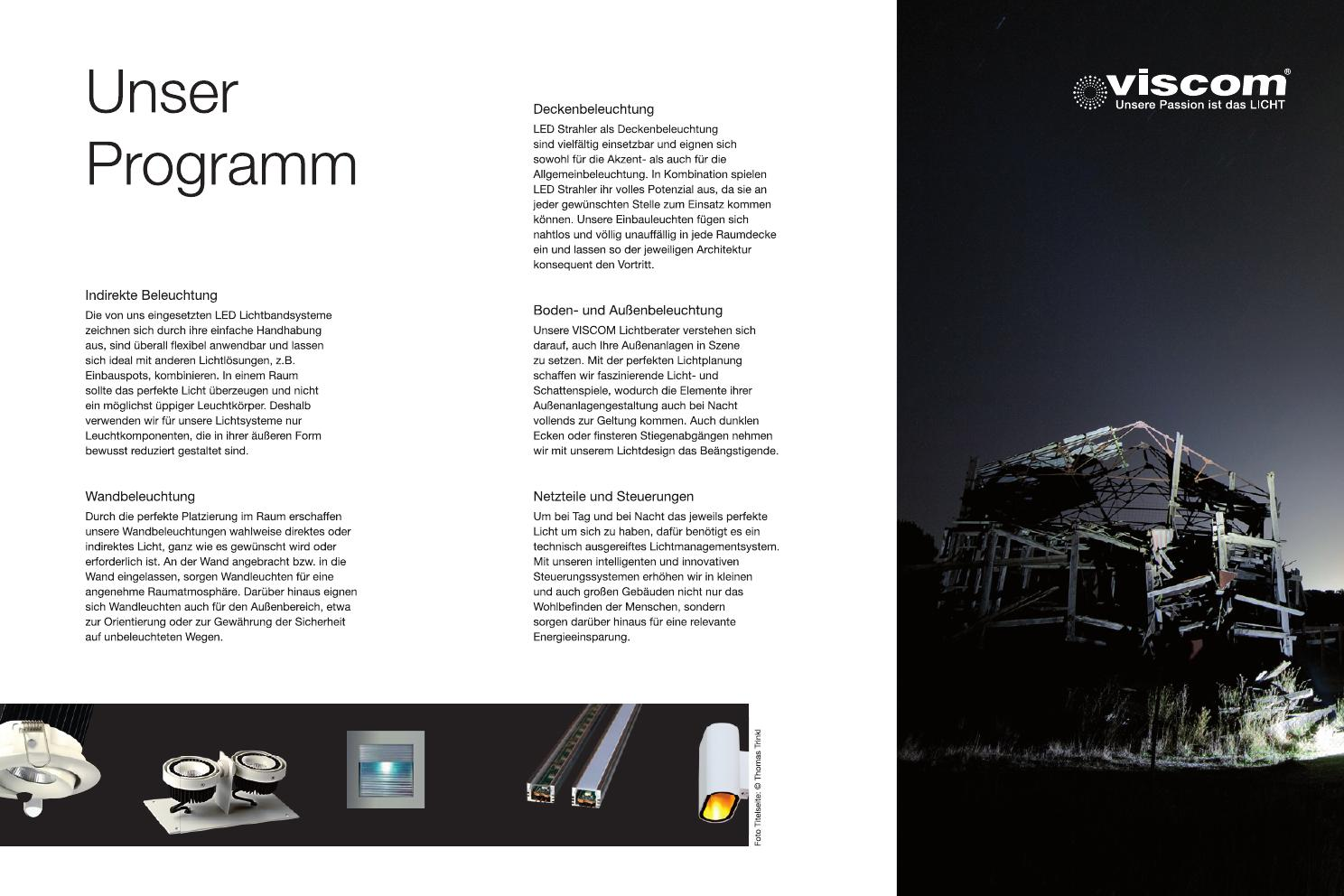 Raum Zeichnen Programm Fleyer Viscom Led Solution Gmbh By Robert Rauter Issuu