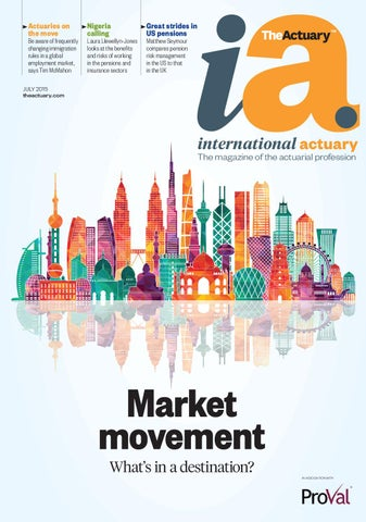 The Actuary International July 2015 by Redactive Media Group - issuu