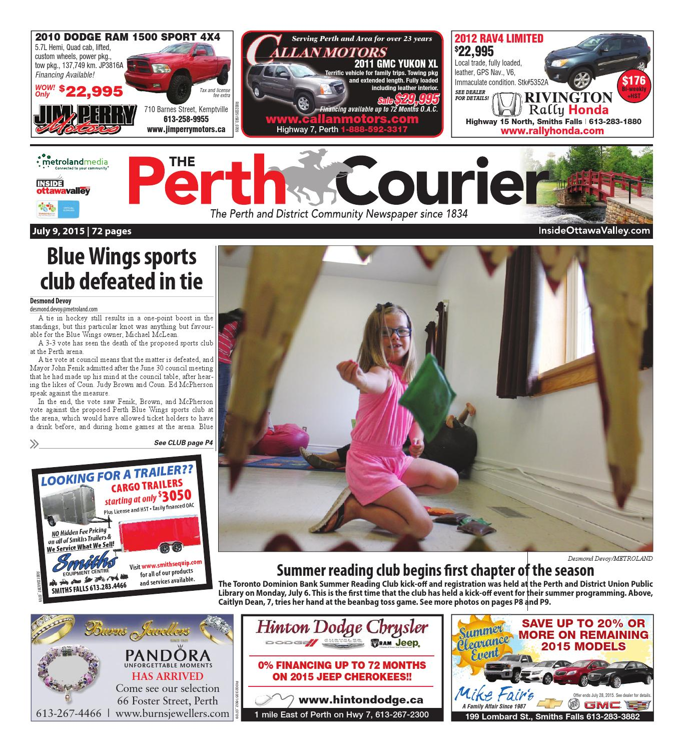 Umbrella Stroller Kijiji Mississauga Perth070915 By Metroland East The Perth Courier Issuu