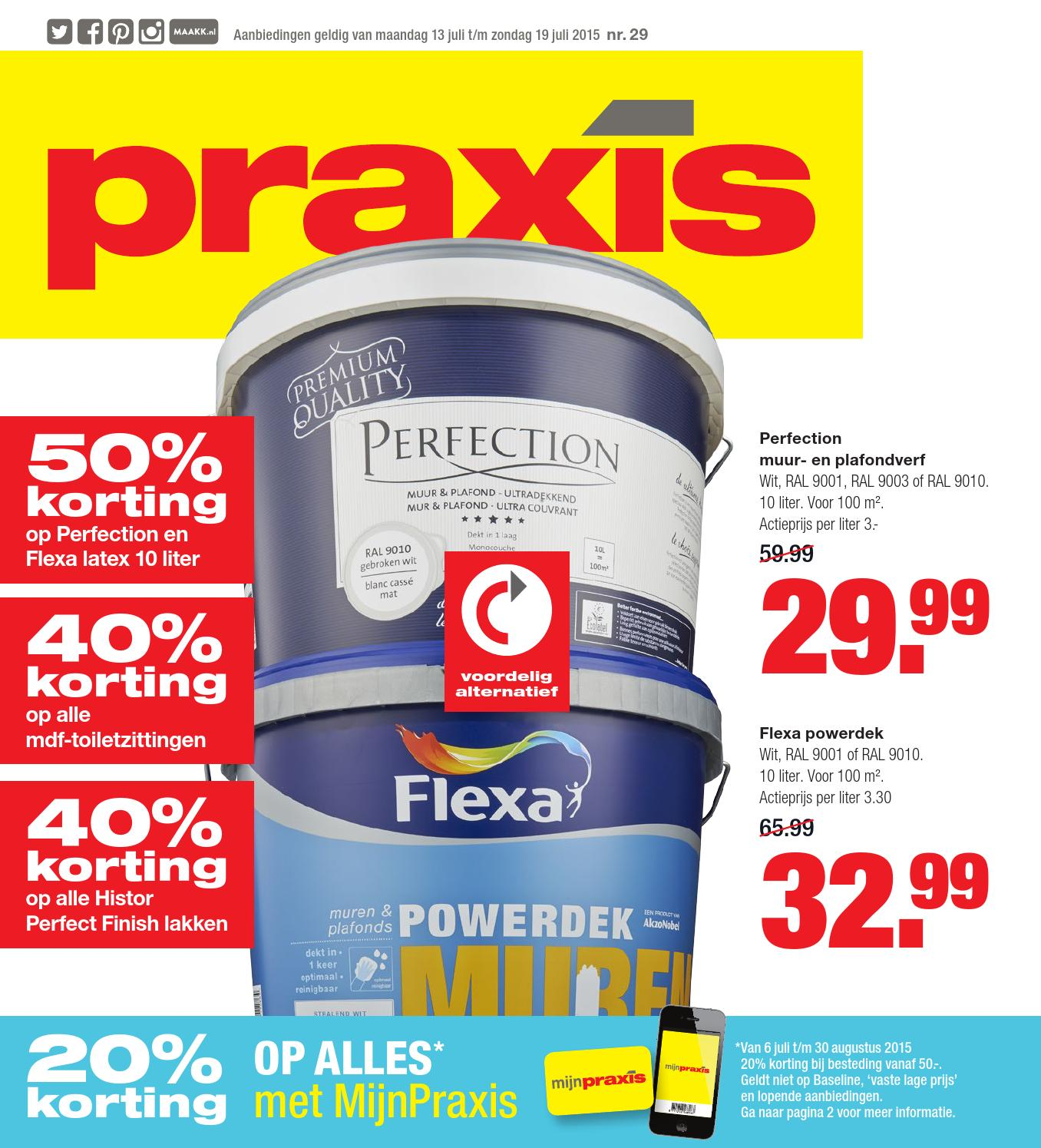 Betontegels 50x50 Praxis Praxis Folder Week 29 2015 By Online Folders Issuu