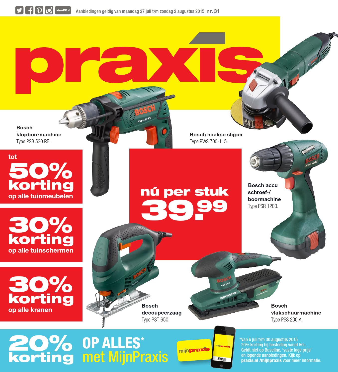 Bosch Borenset Praxis Folder Week 31 2015 By Online Folders Issuu