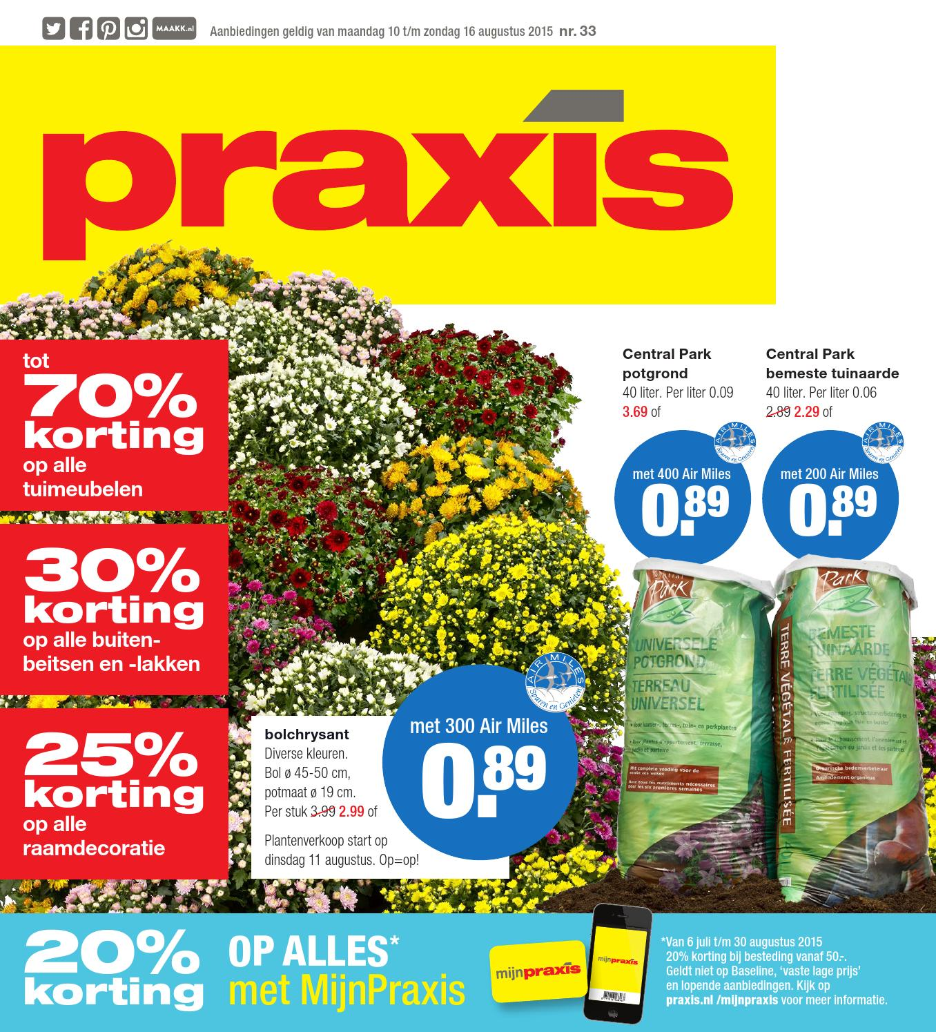 Flexa Strak In De Lak Aanbieding Praxis Praxis Folder Week 33 2015