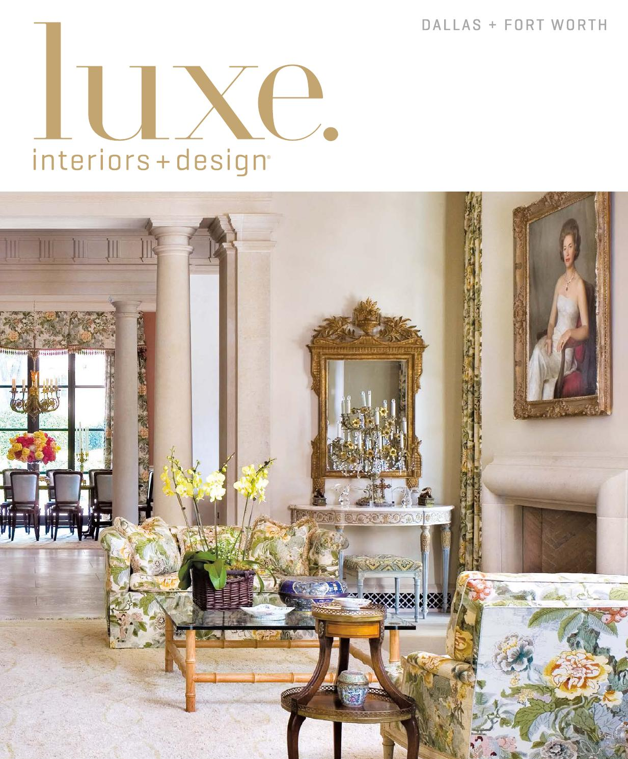 Muebles Capitol Luxe Magazine September 2015 Dallas