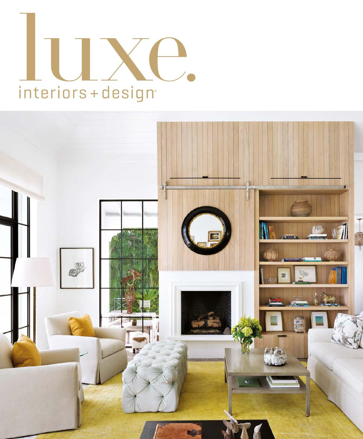 Muebles Capitol Luxe Magazine September 2015 Palm Beach By Sandow Issuu