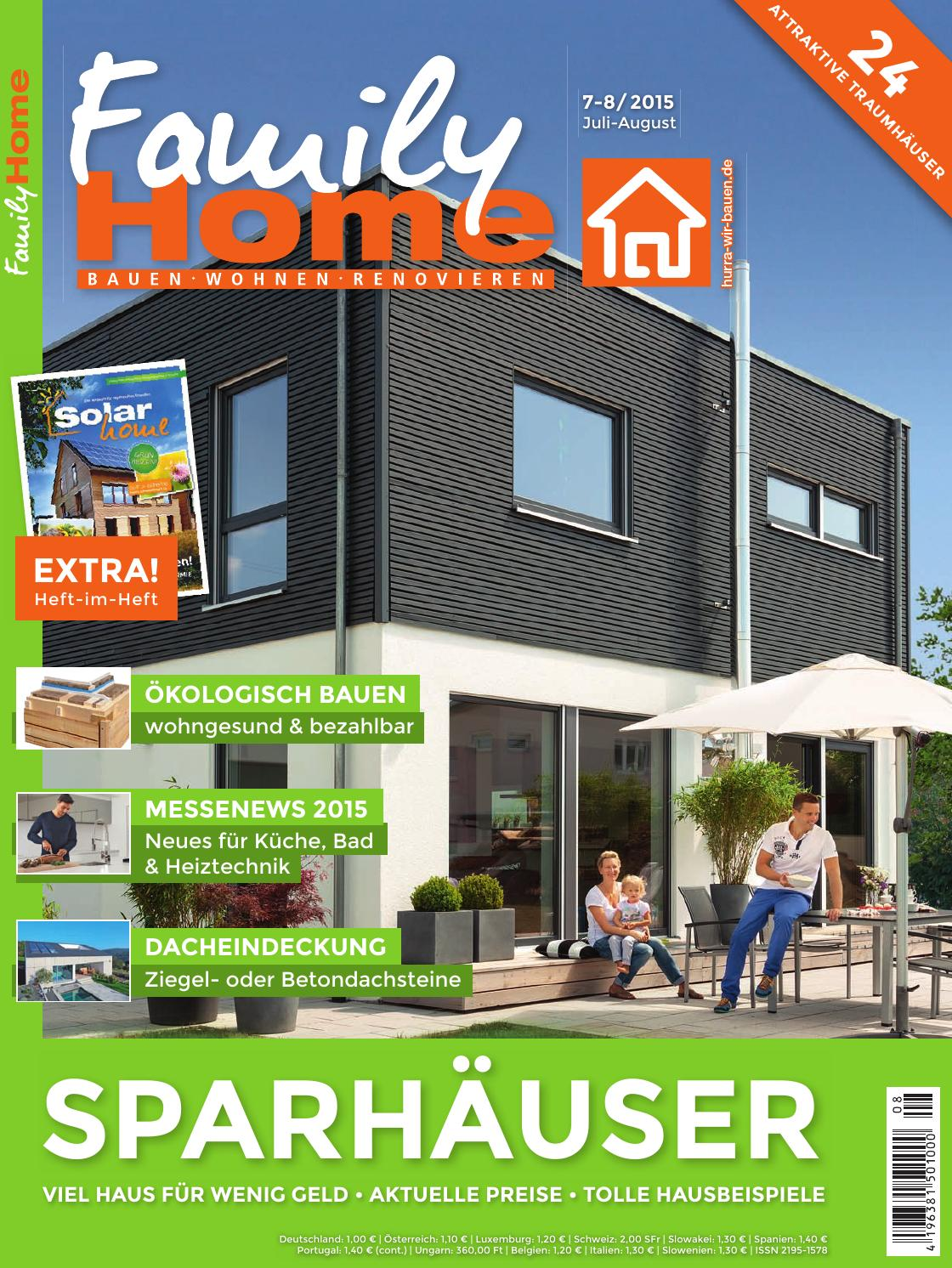 Modulhaus Slowakei Familyhome 7 8 2015 By Family Home Verlag Gmbh Issuu