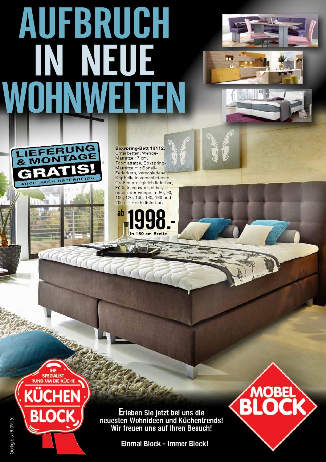 Neue Küchentrends Moebel Block Kw35 By Russmedia Digital Gmbh Issuu