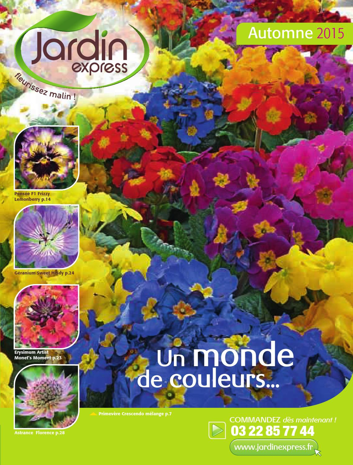 Balconnella Jardin Express Automne 2015 By Blma Issuu