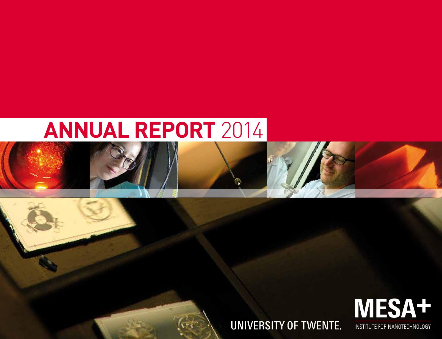 Bios Veldhoven Mesa Annual Report 2014