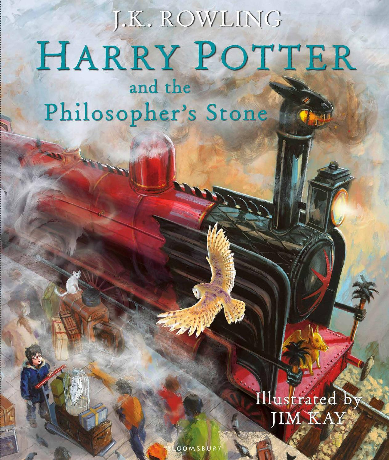 Libros Sobre Harry Potter Harry Potter And The Philosopher S Stone By J K Rowling Illustrated By Jim Kay