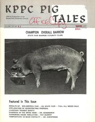 Pig Tales Issue 4 1973 by Kansas Pork Association - issuu