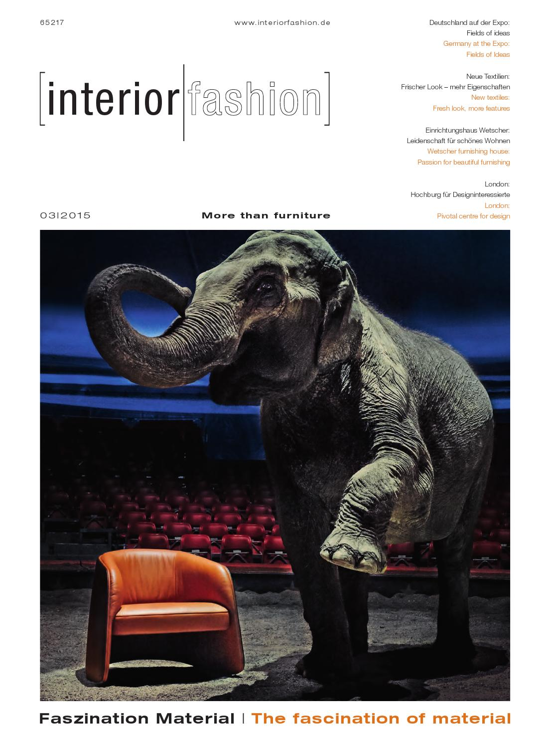 Fischer Haworth Sessel Interiorfashion 3 2015 By Interiorfashion Issuu