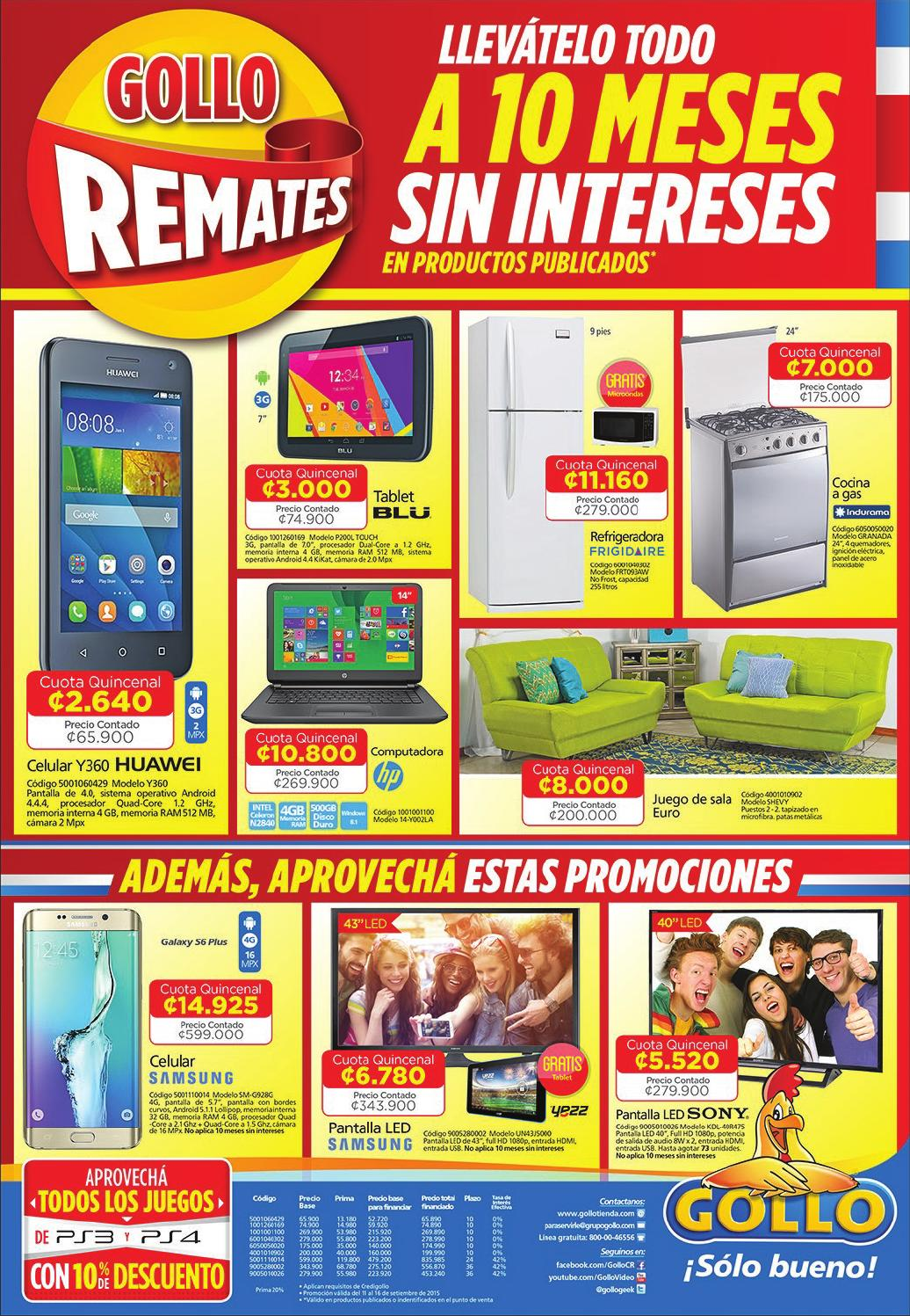 Cuatro Meses Sin Fumar Beneficios 10 Meses Sin Intereses Gollo By Gollo Issuu