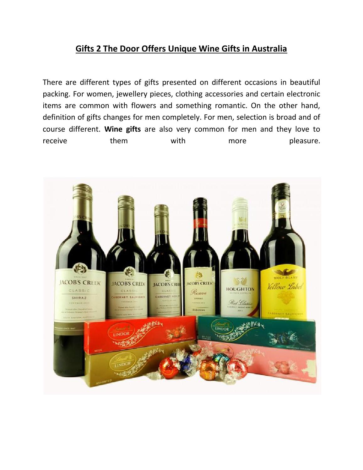 Wine Online Australia Online Unique Wine Gift Delivery In Australia By Gifts 2 The Door