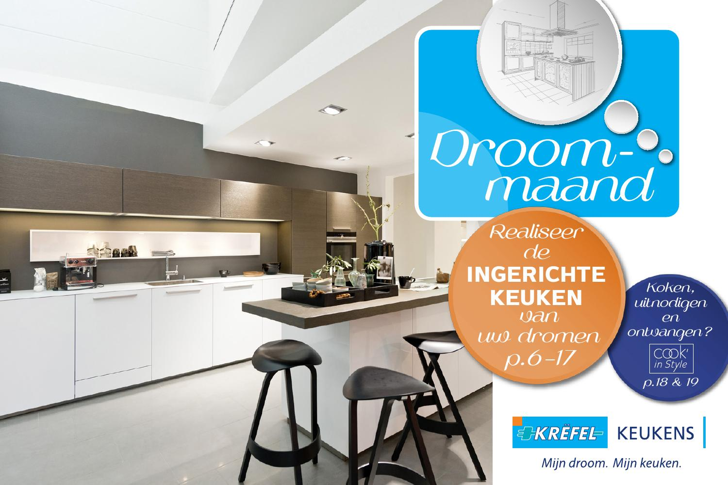 Hakapparaat Keuken Krëfel Keukens Folder September 2015 By Krëfel Issuu