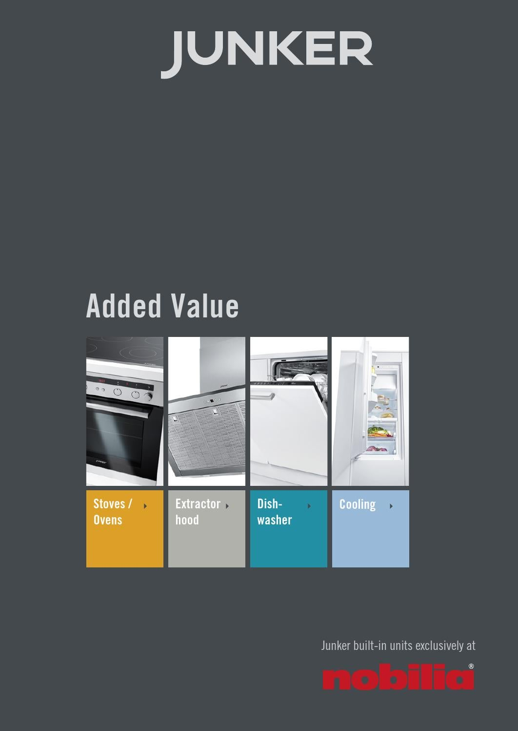 Elettrodomestici Junker Junker Added Value Handy Guide 2015 16 By Junker Einbaugeräte Issuu