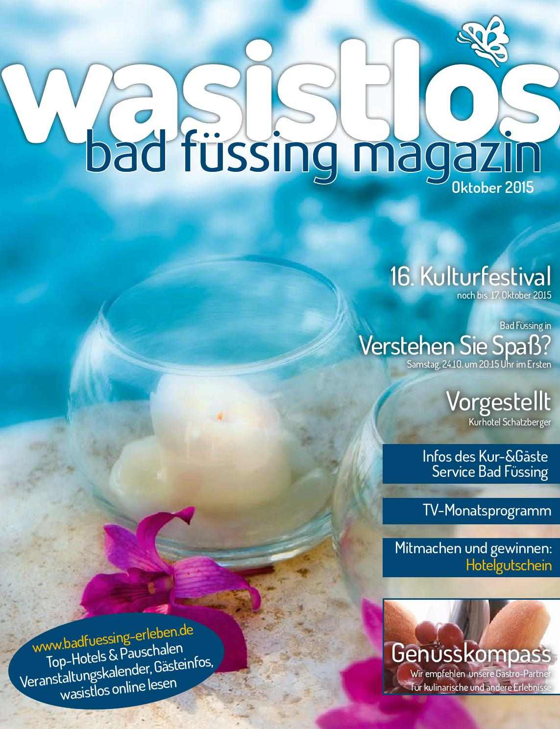 Küchenartikel Erste Wohnung Wasistlos Bad Füssing Magazin Oktober 2015 By Remark Marketing