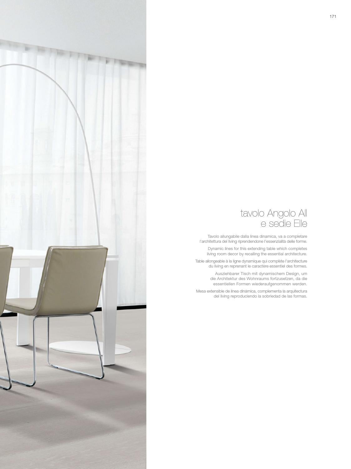 Zalf Tavoli Allungabili Living Solution By Gruppo Euromobil Issuu