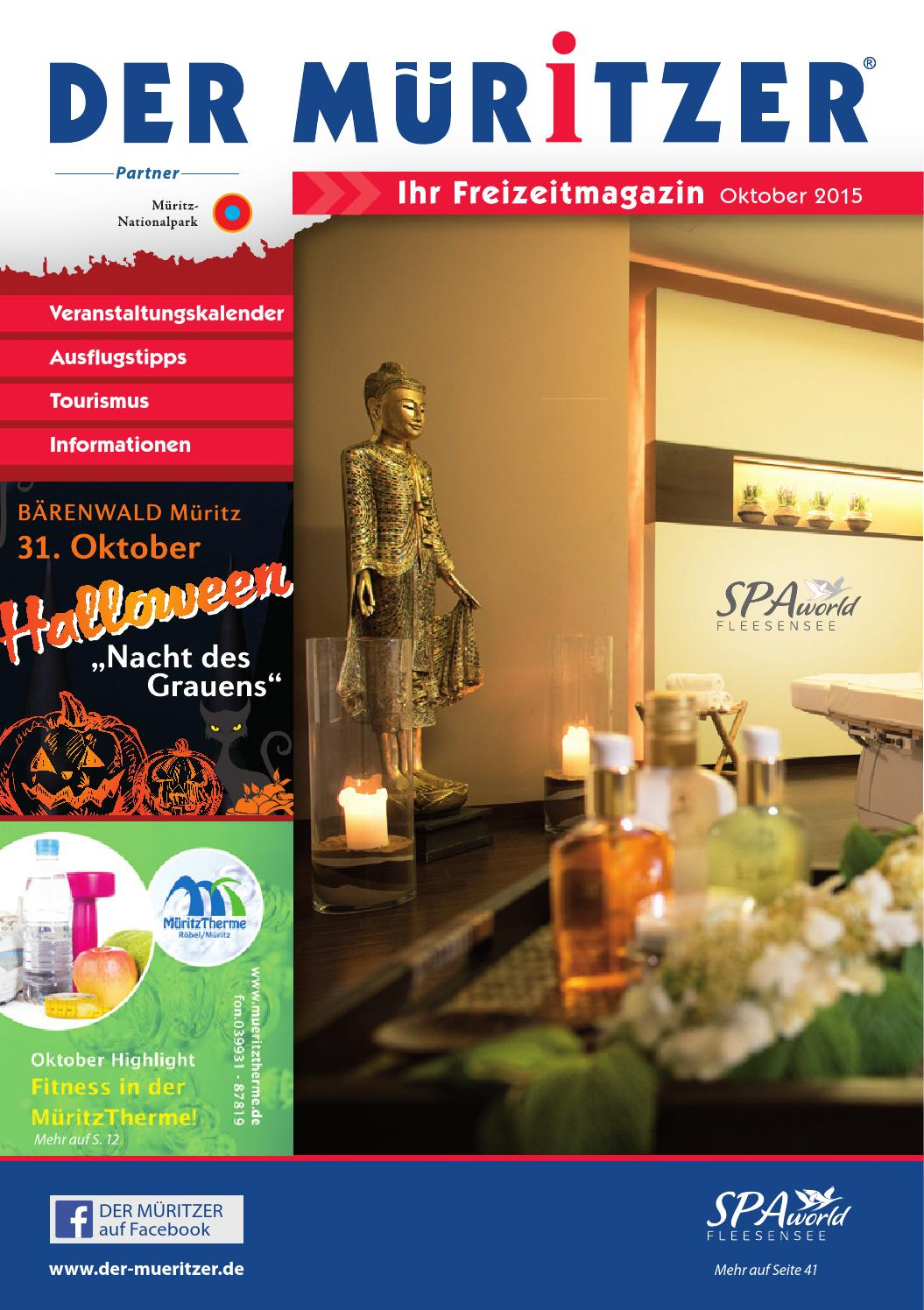 Der MÜritzer Oktober 2015 By Engels Mv Management Issuu