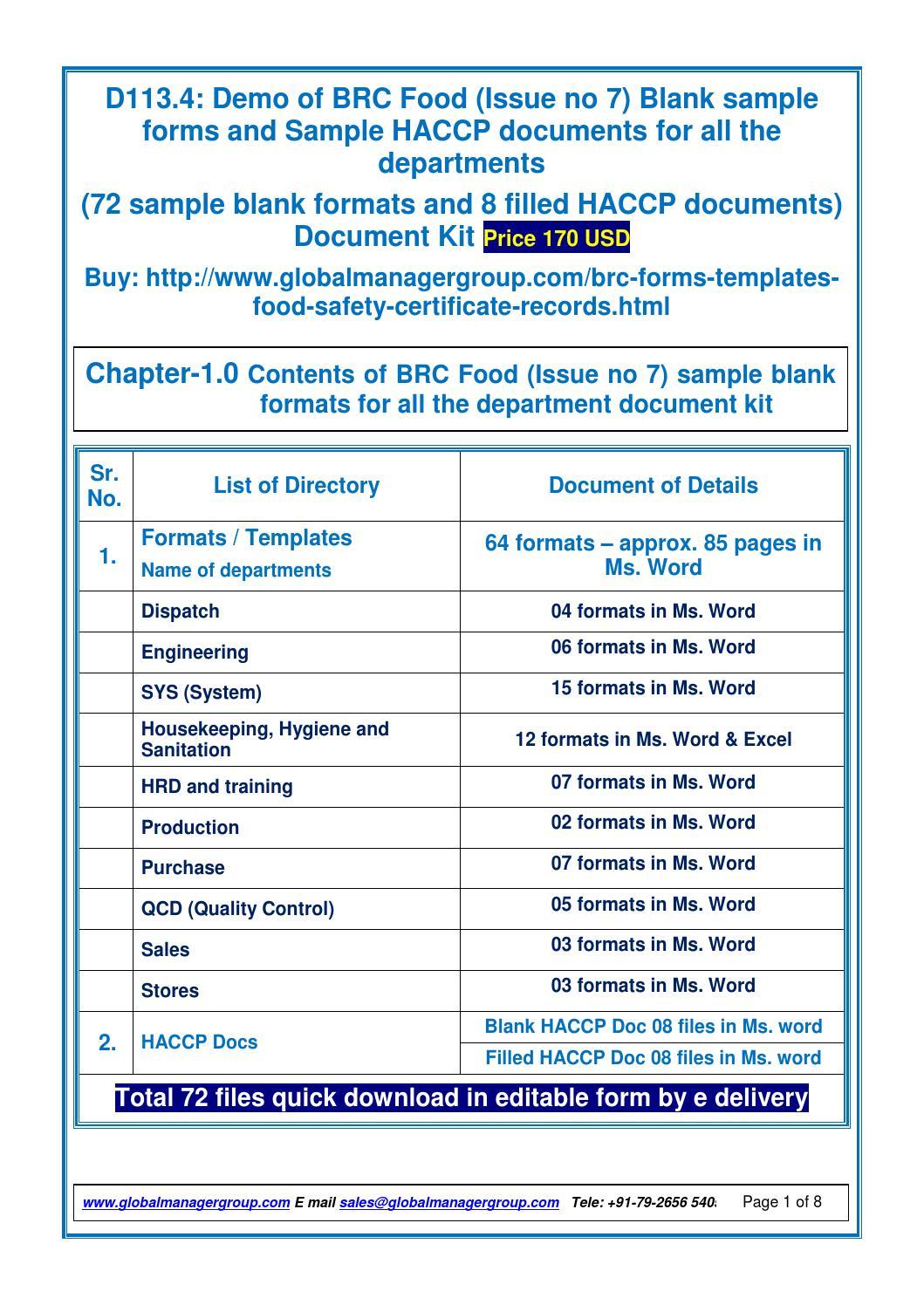 word document sample