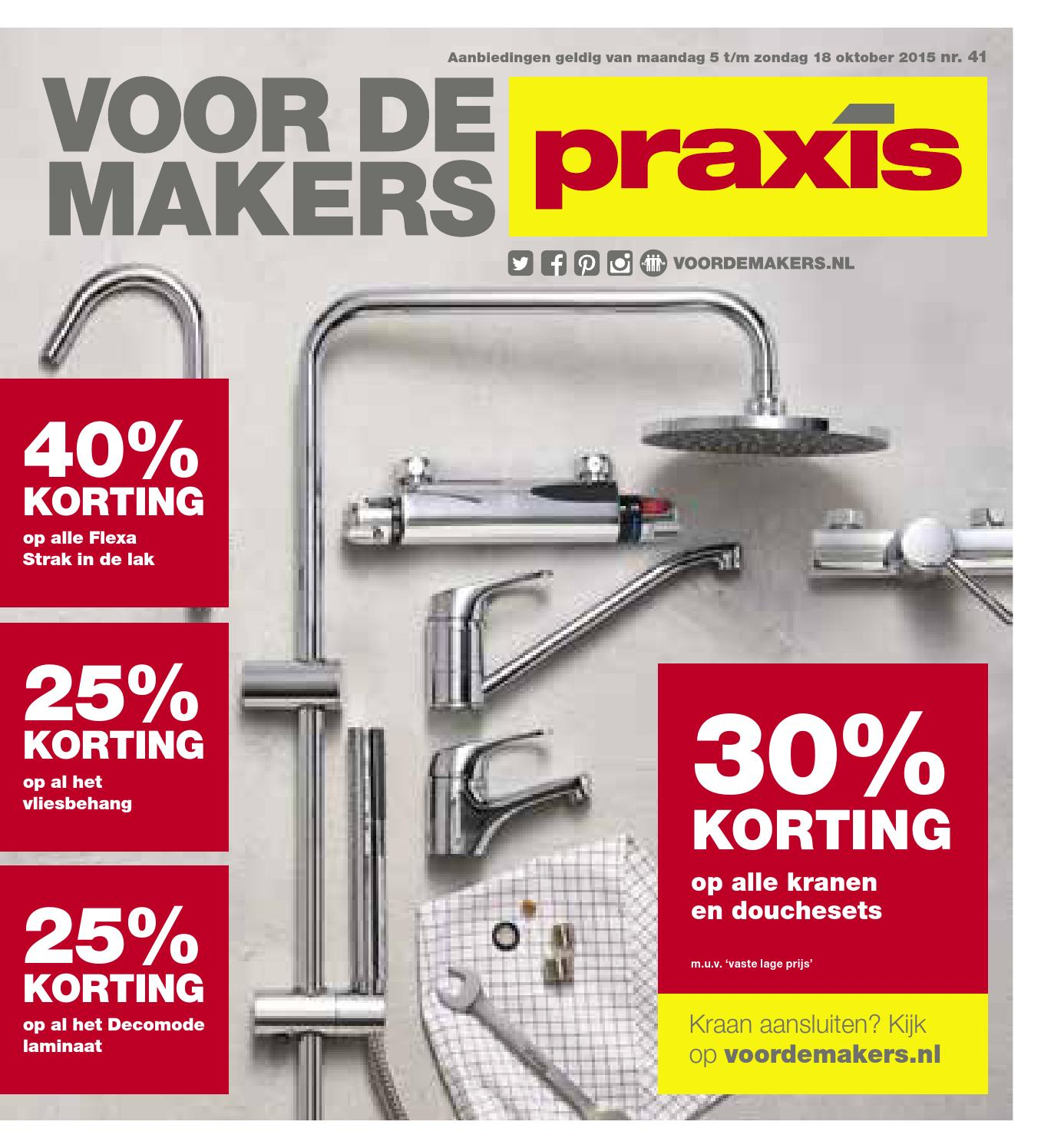 Flexa Strak In De Lak Aanbieding Praxis Praxis Folder Week 41 2015