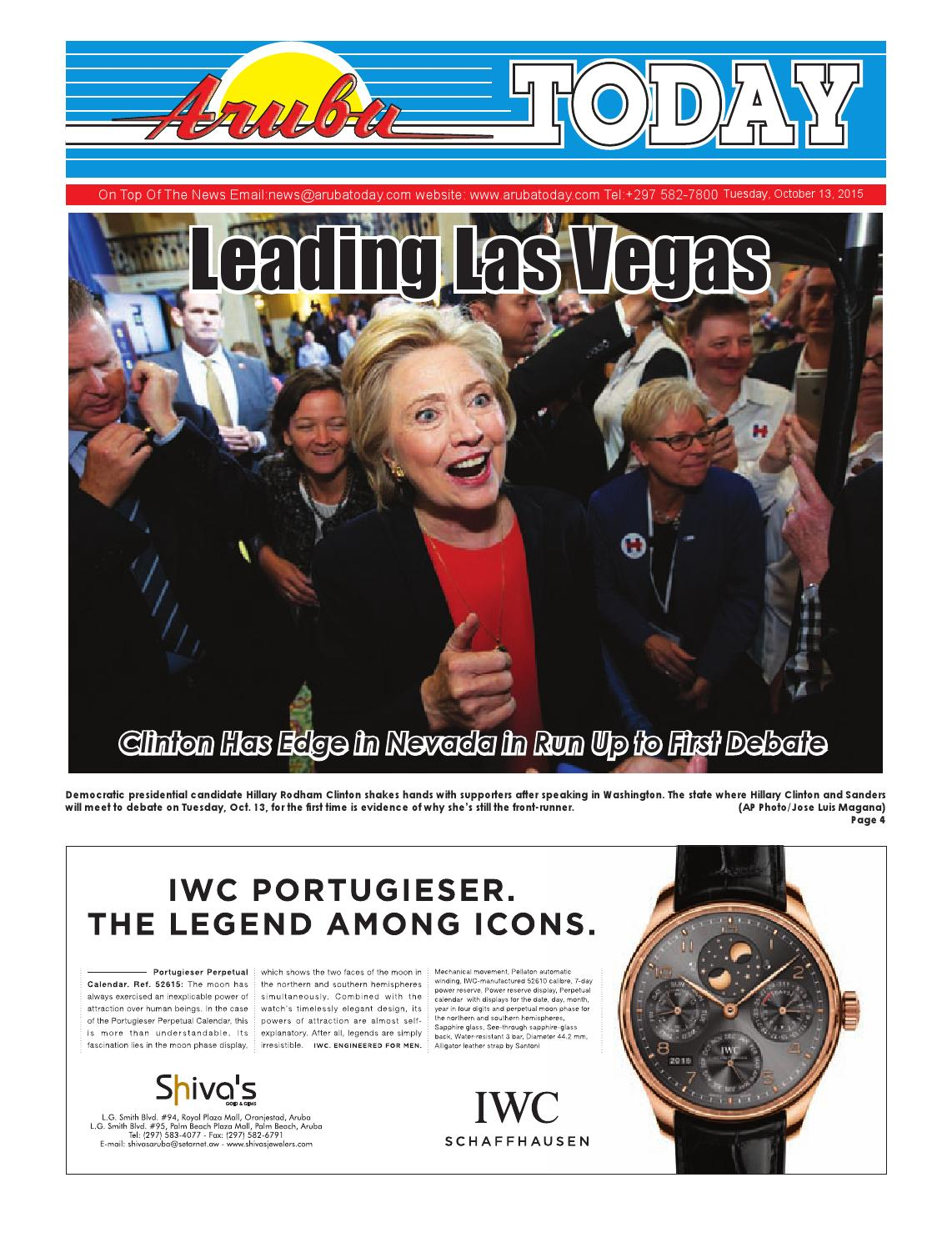 4 Zits Bank Collin October 13 2015 By Aruba Today Issuu