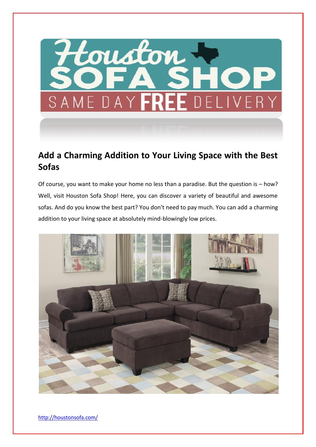 Sofa For Sale Houston Sofa Sale Houston By Houstonsofa Issuu