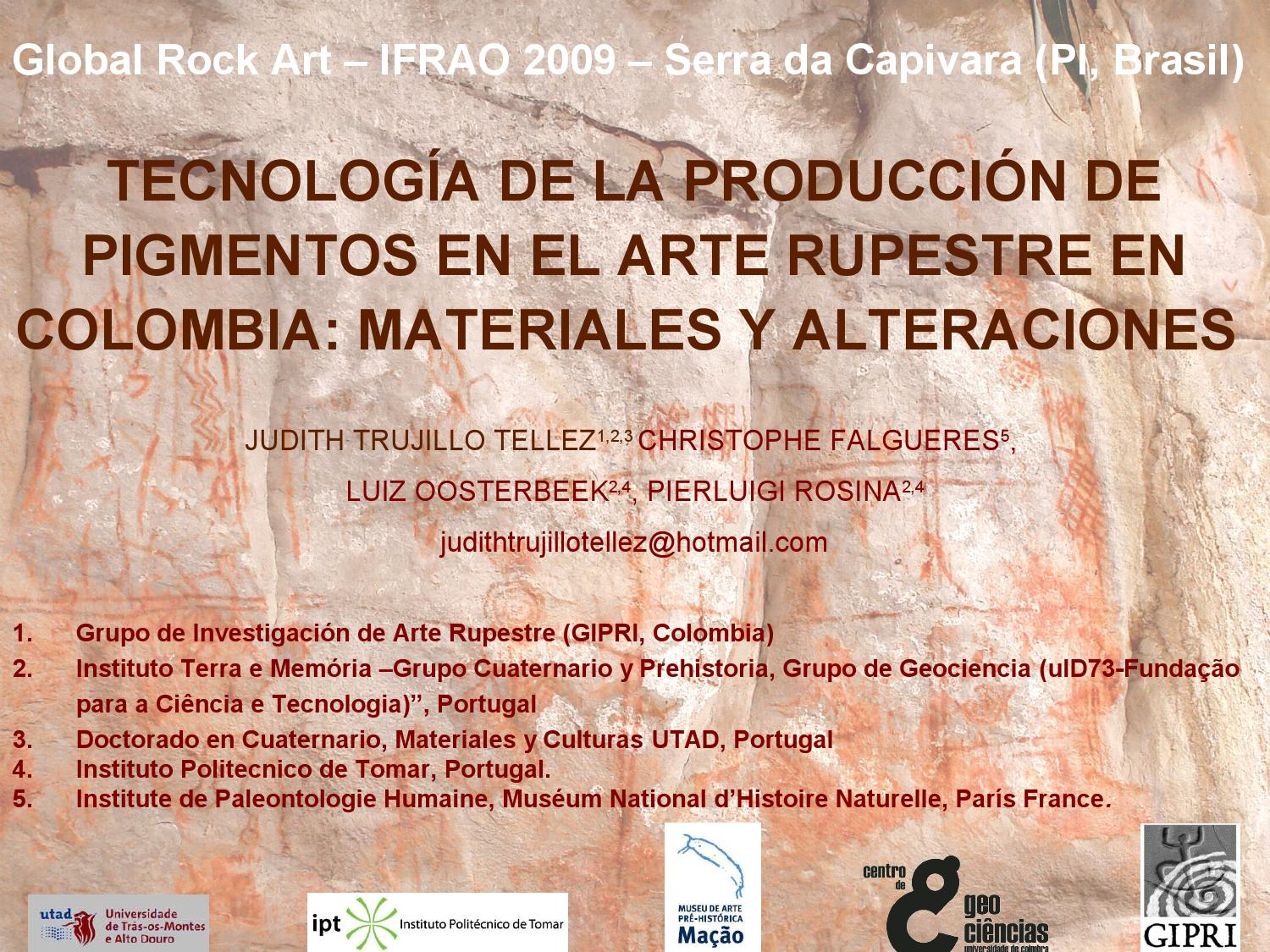 Arte Rupestre English Thecnology Production Jt English By Guillermo Muñoz Issuu