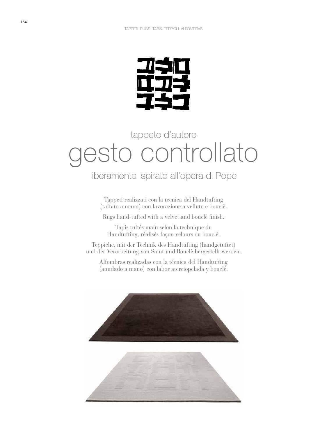 Handtuft Teppiche Catalogo Beds Accessories Rugs By Gruppo Euromobil Issuu