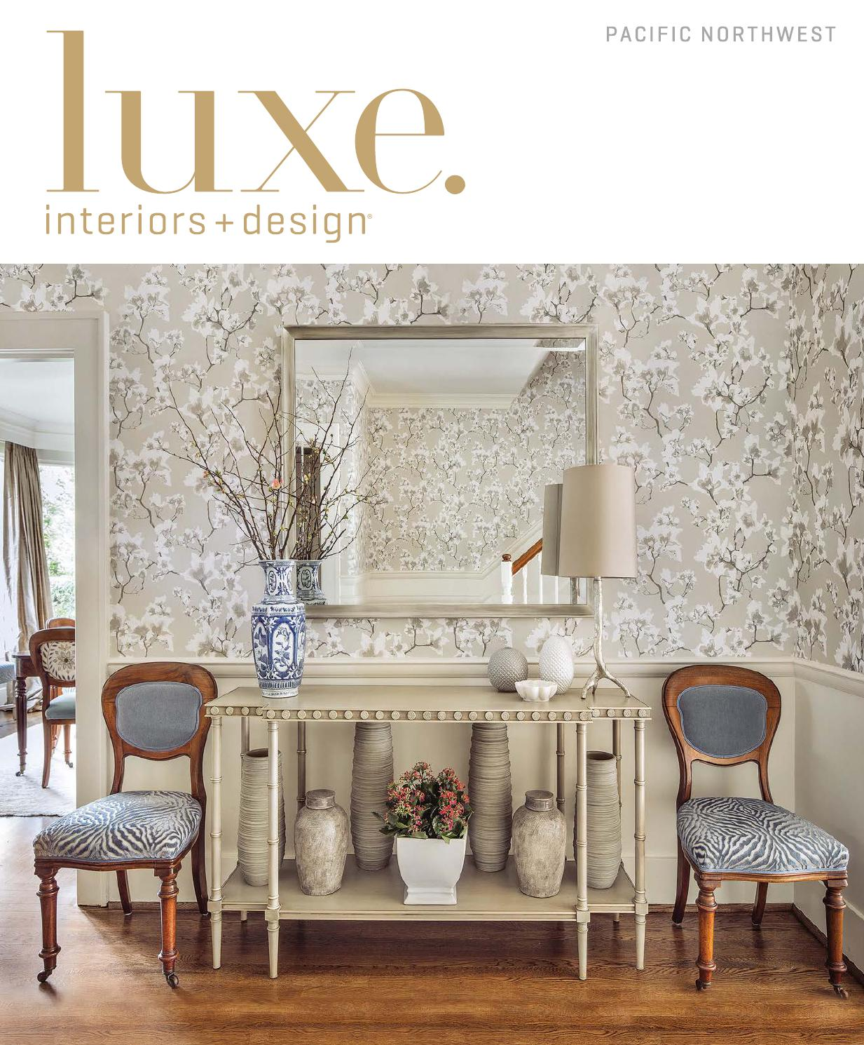 Fauteuils Serenity En Promotion Luxe Magazine November 2015 Pacific Northwest By Sandow Issuu