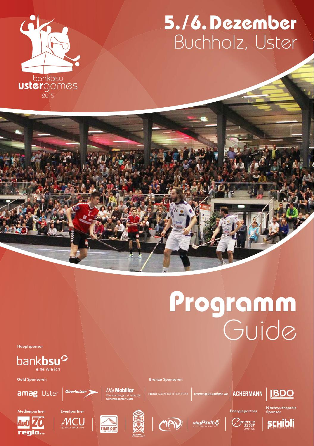 Holz Kaufen Uster Bank Bsu Uster Games Programm Guide 2015 By Uhc Uster Issuu