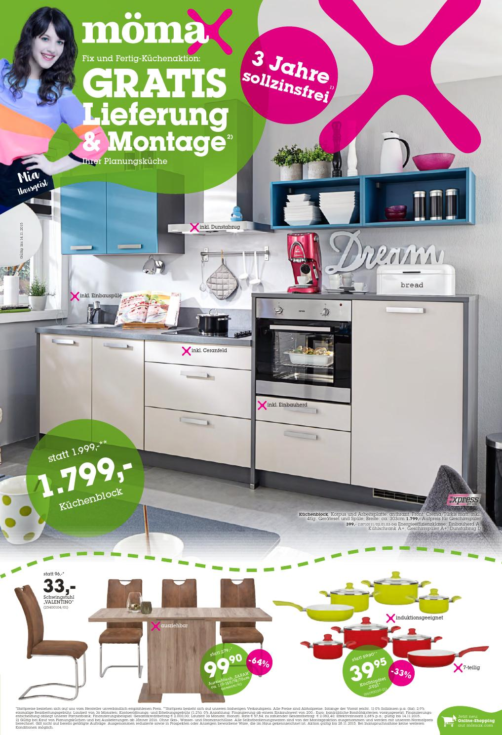Mömax Küchen Aktion Moemax Angebote 2 14november2015 By Promoangebote At Issuu