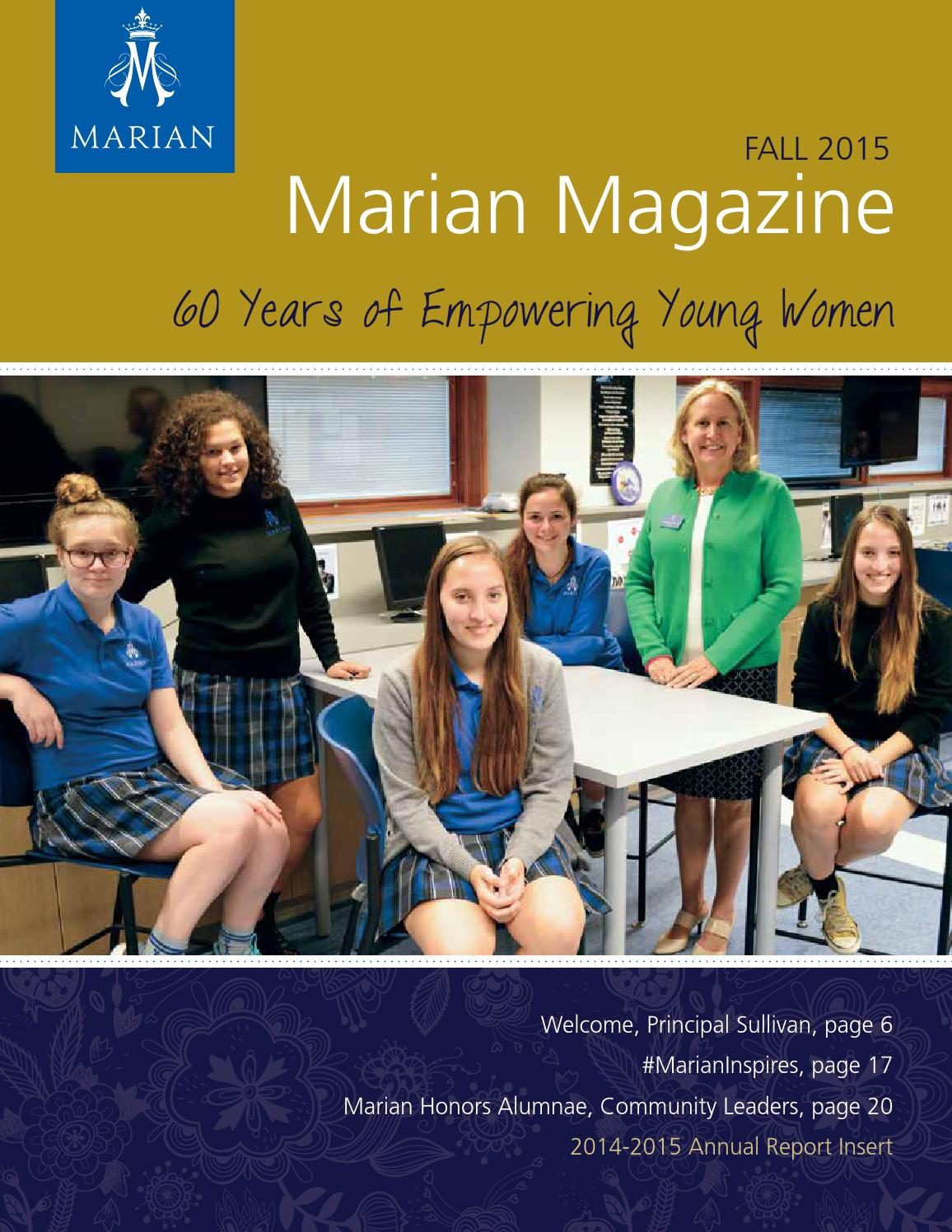 Marian Magazine | Fall 2015 by Marian High School - issuu