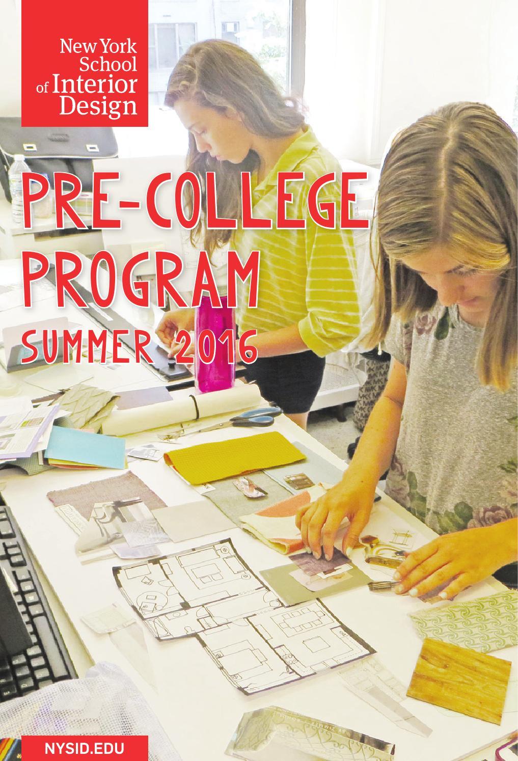 New York School Interior Design Tuition Online Design Courses New York Institute Of Art Design Nysid Pre College 2016 By New York School Of Interior