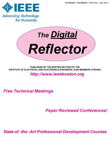 2015 November-December Digital Reflector by IEEE Boston Section - issuu