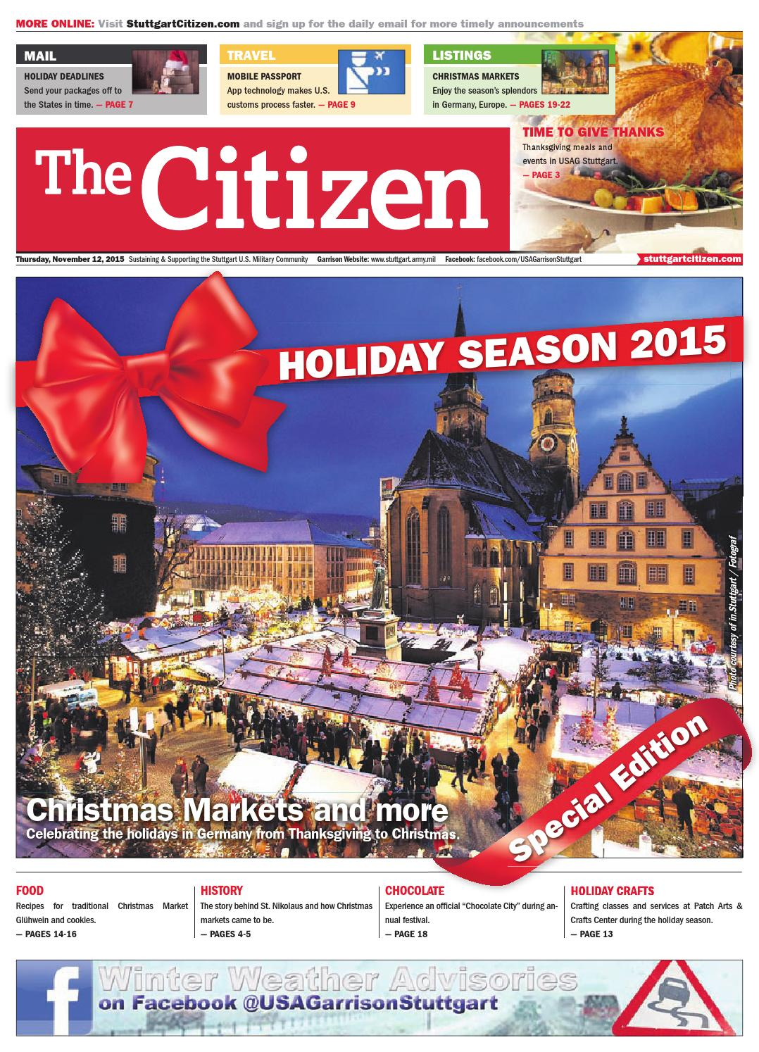 Cash Pool Fellbach The Citizen November 12 2015 By Advantipro Gmbh Issuu